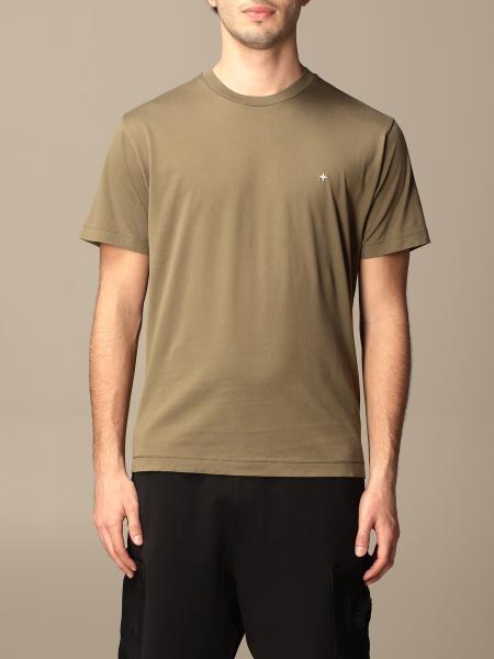 T-shirt Stone Island in cotone basic