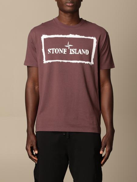 Stone Island t-shirt in cotton with print