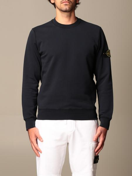 Stone Island crewneck sweatshirt in cotton