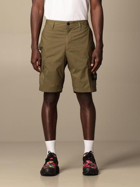 Stone Island Kargo Bermuda shorts in stretch parachute canvas
