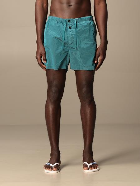 Stone Island boxer swimsuit in metal nylon