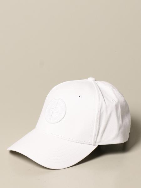 Stone Island baseball cap in cotton with logo