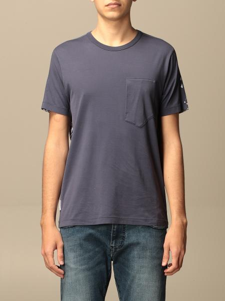 Stone Island Shadow Project: Stone Island cotton T-shirt with back print