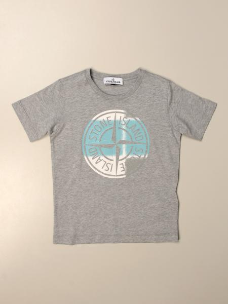 Stone Island Junior t-shirt in basic cotton