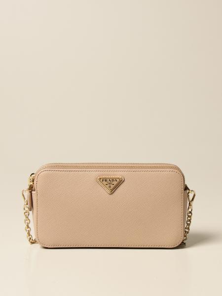 Prada women: Prada bag in saffiano leather