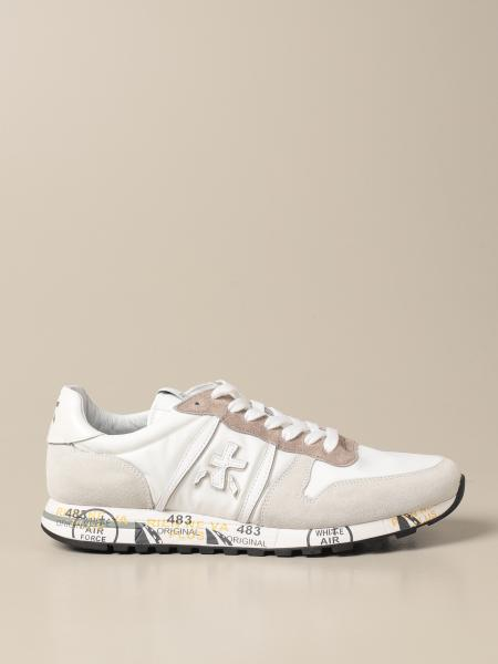 Eric Premiata sneakers in suede and nylon