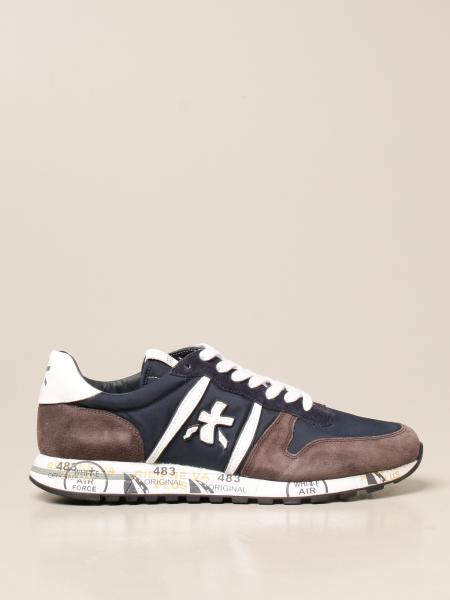 Sneakers Eric Premiata in camoscio e nylon