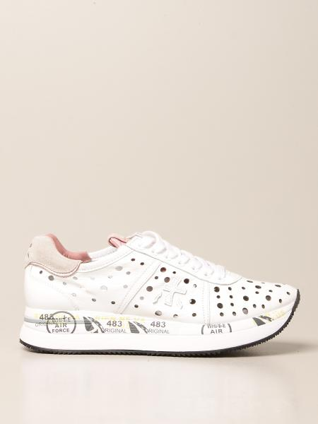 Conny Premiata sneakers in perforated leather