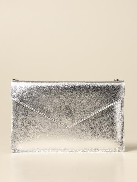 Lancaster Paris clutch bag in saffiano leather
