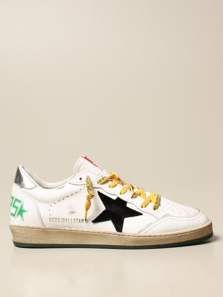 Golden Goose: Ball Star Golden Goose sneakers in leather