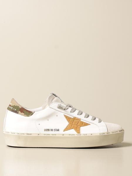 Golden Goose men: Histar Golden Goose trainers in leather and suede