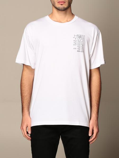 Golden Goose men: Golden Goose cotton t-shirt with logo