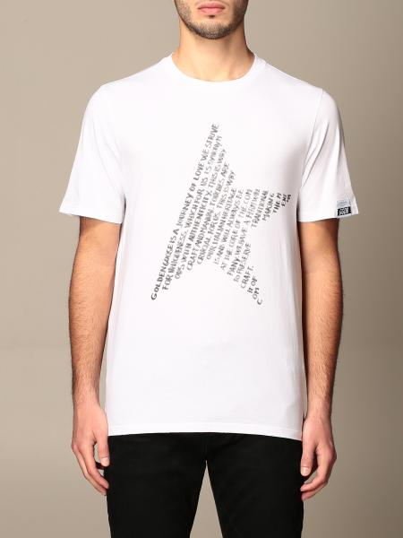 Golden Goose: Golden Goose cotton T-shirt with logoed star