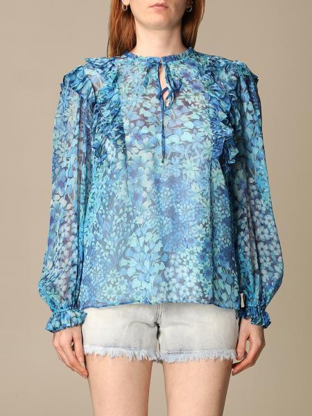 Twin-Set donna: Camicia Twin-set a fantasia floreale