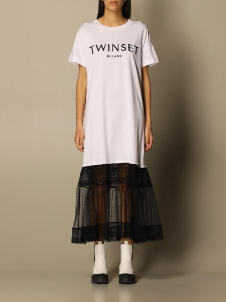 Twinset women: Dress women Twin Set