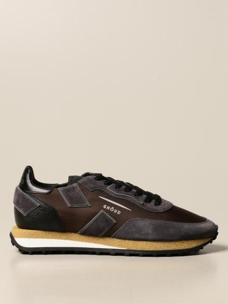 Sneakers Rush Ghoud in camoscio e nylon