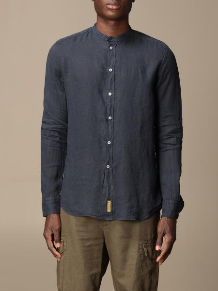 Brooklyn BD Baggies shirt in garment dyed linen