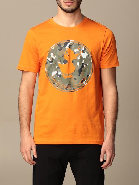 Save The Duck cotton T-shirt with big print