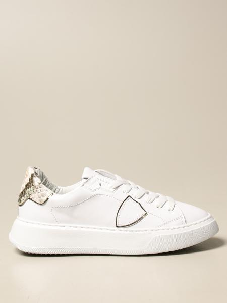 Sneakers Temple Veau Philippe Model in pelle