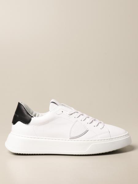 Philippe Model: Sneakers Temple Philippe Model in pelle