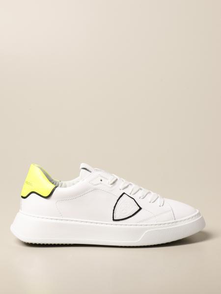 Philippe Model: Sneakers Temple Veau Philippe Model in pelle