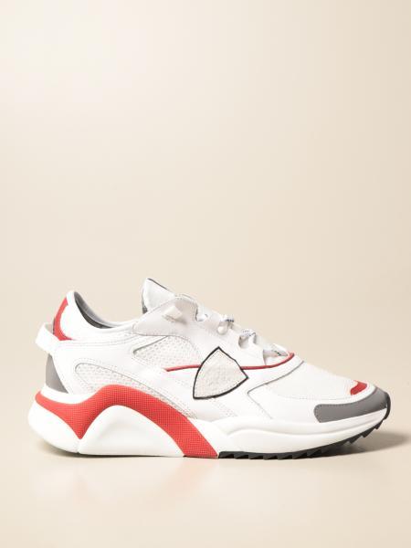 Philippe Model: Eze sneakers pelle con contrasti