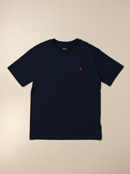T-shirt basic Polo Ralph Lauren Boy in cotone