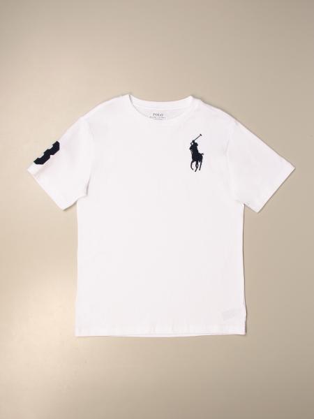 Polo Ralph Lauren Boy basic cotton t-shirt