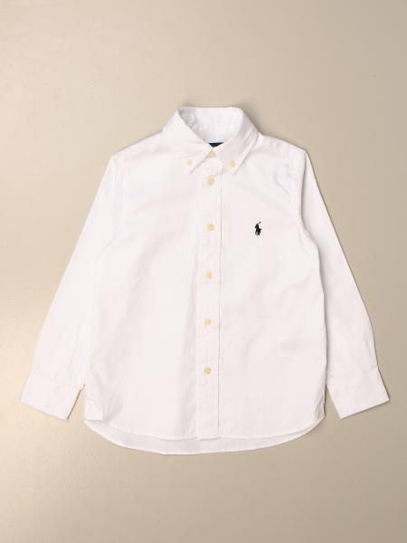 Camicia Polo Ralph Lauren Kid in cotone