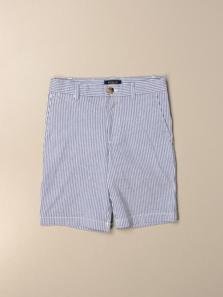 Polo Ralph Lauren Kid shorts in striped cotton