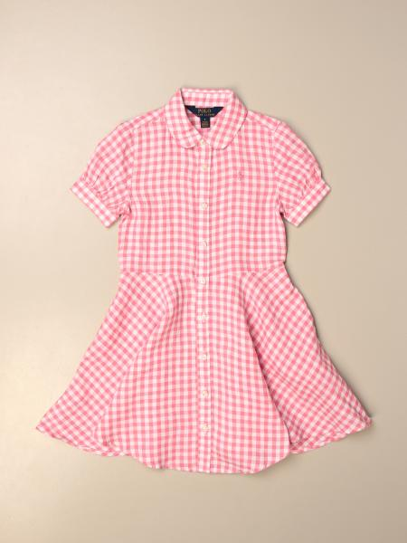 Polo Ralph Lauren Kid dress in vichy linen