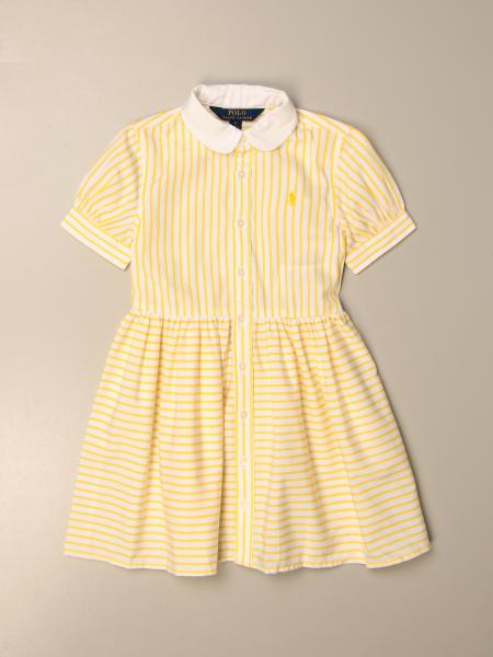 Striped Polo Ralph Lauren Kid shirt dress