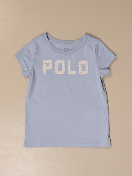 T-shirt Polo Ralph Lauren Toddler con logo