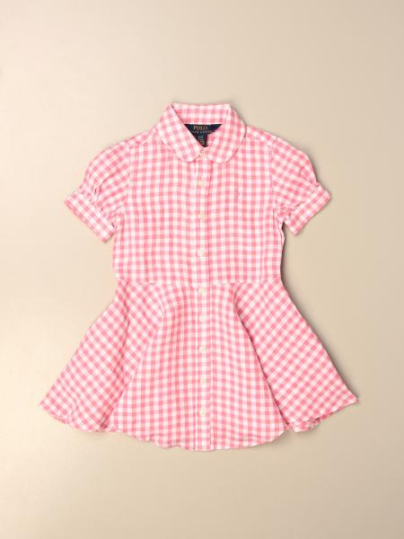Polo Ralph Lauren Toddler dress in vichy linen