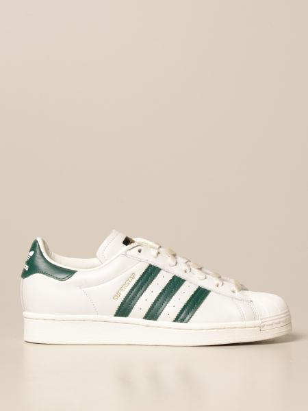 Adidas Originals Superstar sneakers in leather