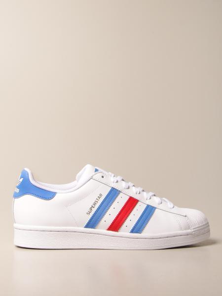 Adidas Originals Superstar sneakers in leather