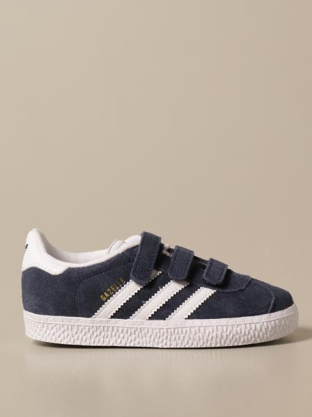 Sneakers Gazelle Adidas Originals in camoscio e pelle