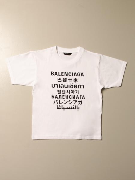 Balenciaga: Balenciaga cotton t-shirt with logo