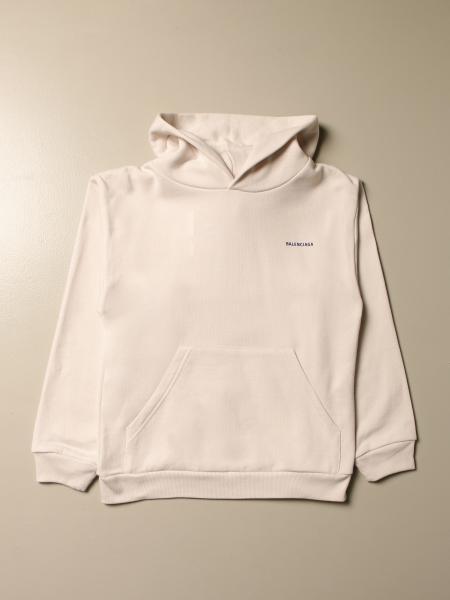 Balenciaga: Balenciaga hooded sweatshirt in cotton