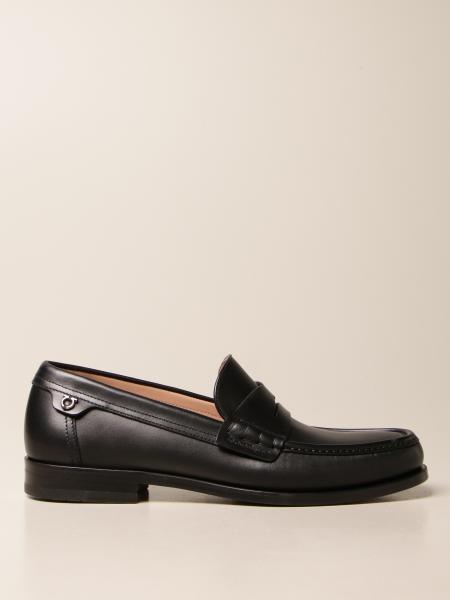 Salvatore Ferragamo: Port Salvatore Ferragamo loafers in calf suede