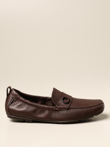 Salvatore Ferragamo men: Salvatore Ferragamo Panarea moccasin in leather