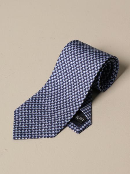 Salvatore Ferragamo: Salvatore Ferragamo silk tie with bird pattern