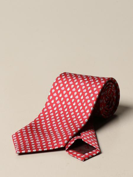 Salvatore Ferragamo men: Salvatore Ferragamo silk tie with pattern