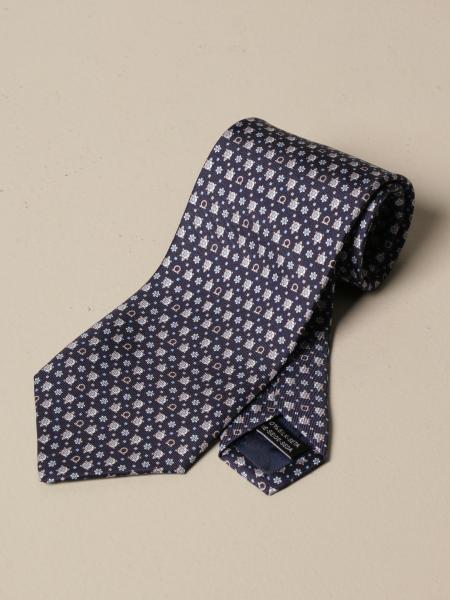Salvatore Ferragamo: Salvatore Ferragamo tie in turtle patterned silk
