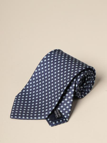 Salvatore Ferragamo: Salvatore Ferragamo silk tie with flower pattern