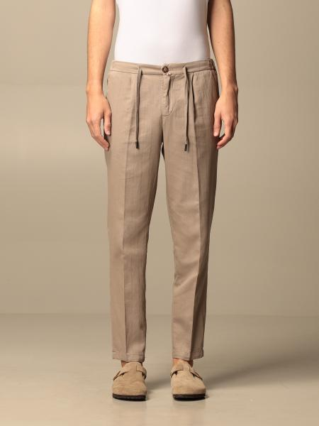 Baronio uomo: Pantalone chino Baronio a righe