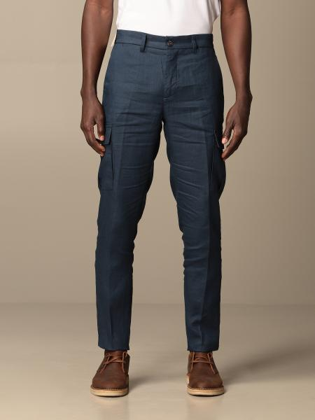 Baronio uomo: Pantalone Baronio kargo in lino
