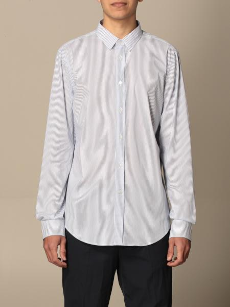Grifoni shirt in striped poplin