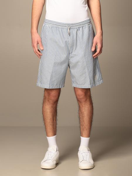 Collins Department Five striped cotton bermuda shorts