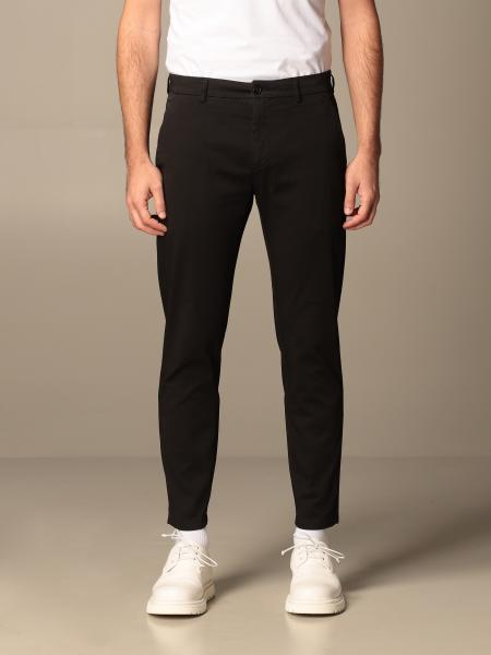 Department Five: Department Five trousers in garment-dyed gabardine